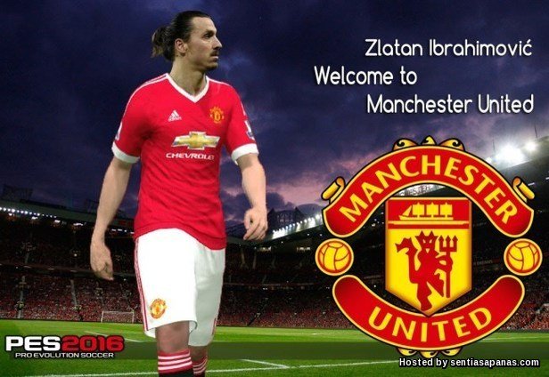 Welcome Zlatan Ibrahimovic to MU