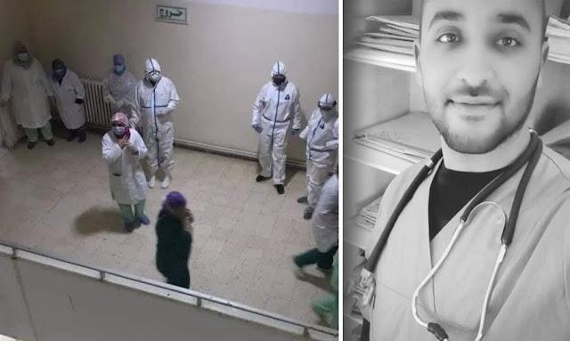 وفاة  بدر الدين العلوي طبيب في مستشفى جندوبة بعد سقوطه من مصعد معطل