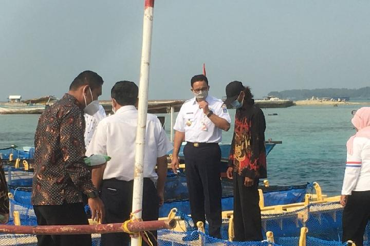 Kunjungi Pulau Sebira, Anies Baswedan: Sebelumnya Tak Pernah Ada Gubernur Datang Seperti Ini
