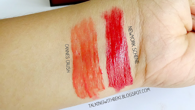 Review Revlon Colorstary Moisture Stain swatches