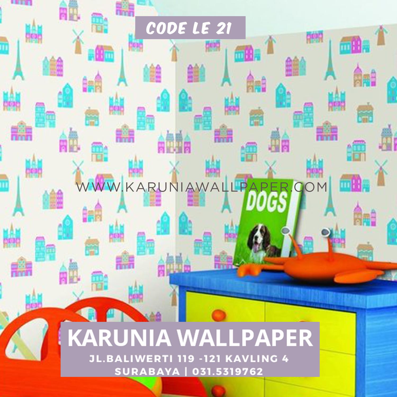 jual wallpaper lucu kamar anak