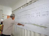 Ganjar Cek Pembangunan Flyover Ganefo Mranggen; Sudah Berjalan 12 Persen
