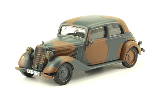 TYP 170 V (W136) 1:43, voitures militaires de la seconde guerre mondiale