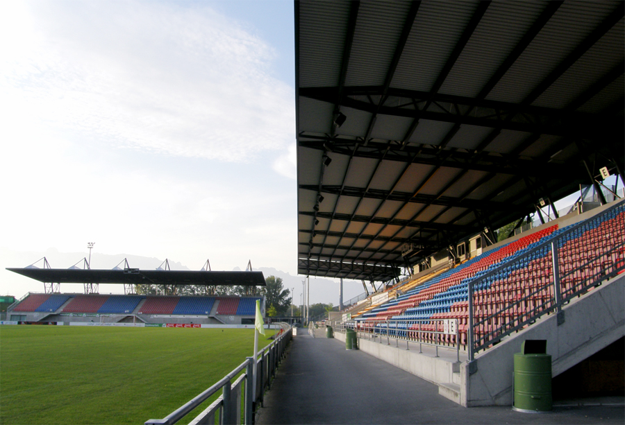 rheinpark stadion vaduz liechtenstein mappa