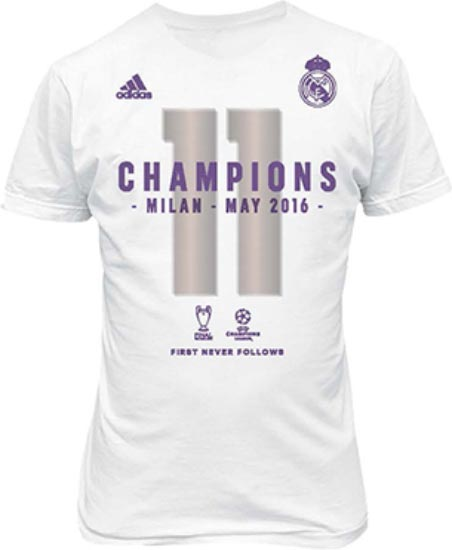 ea73b57f5 Real Madrid 2015-16 Champions League Winners Shirt Revealed ...