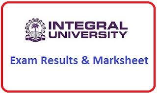 Integral University Results 2020