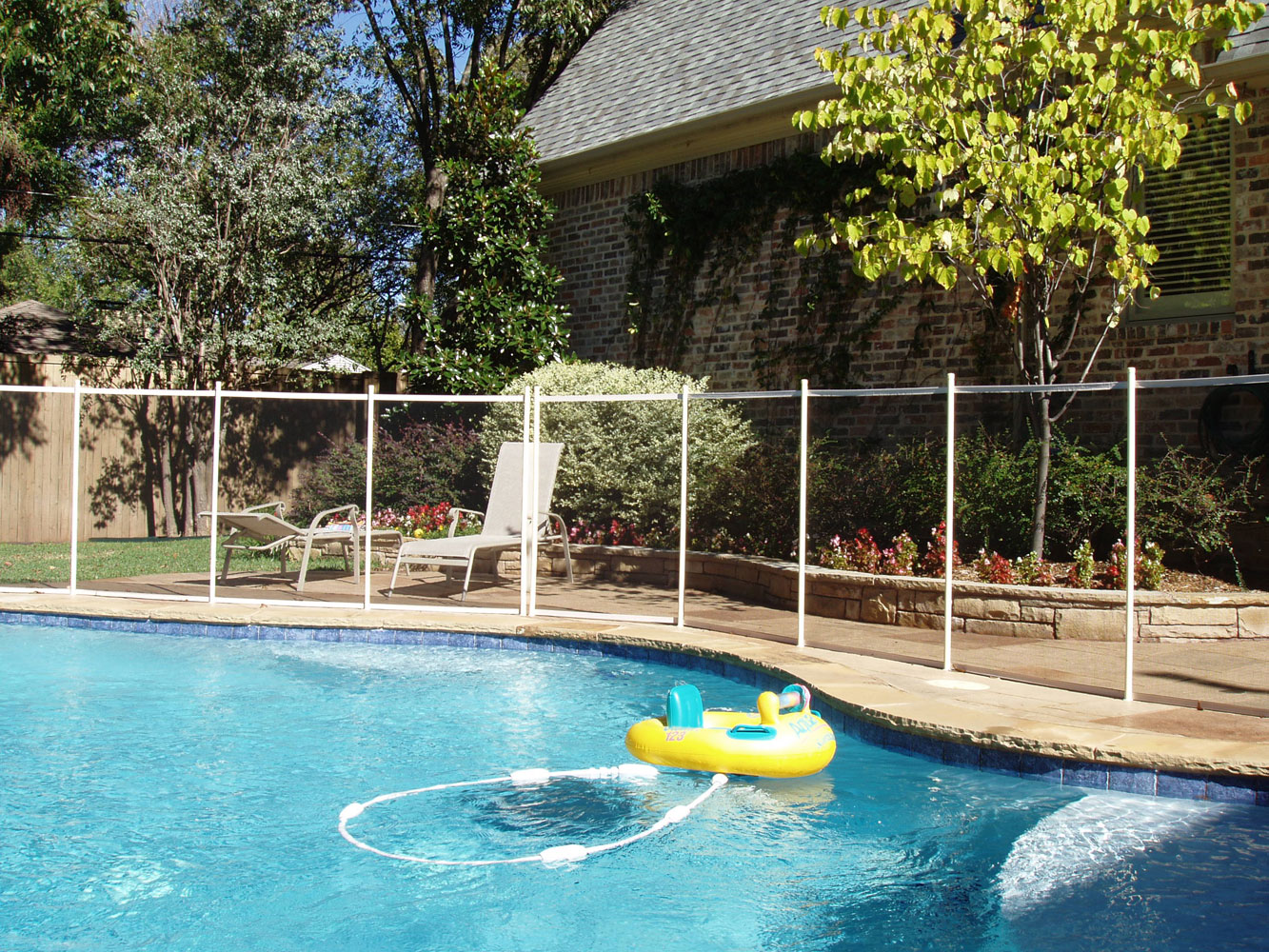 Home Improvement Blog Diy Pool Fence