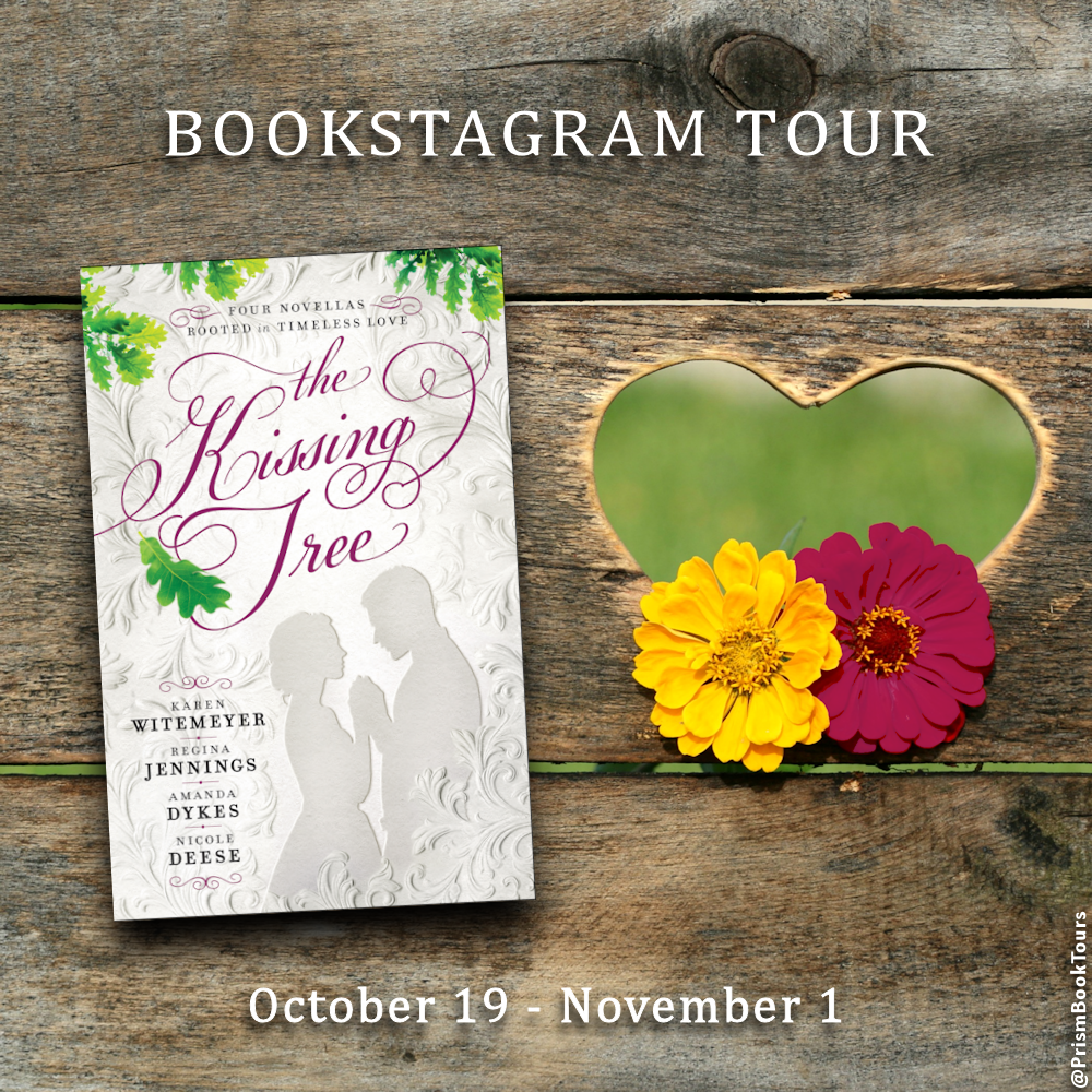 Check out the Bookstagram Tour for THE KISSING TREE by Karen Witemeyer, Regina Jennings, Amanda Dykes & Nicole Deese! #KTPrism #BHPFiction