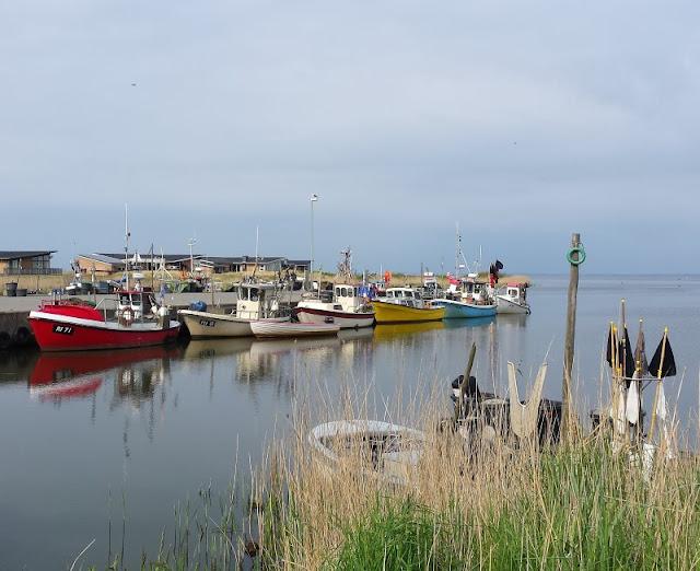 Aus unserem Dänemark-Urlaub: Wunderschöne Ausflugsziele rund um Houstrup. Teil 1: Strände, Häfen und einzigartige Natur. Hier: Tyskerhavn Hvide Sande.