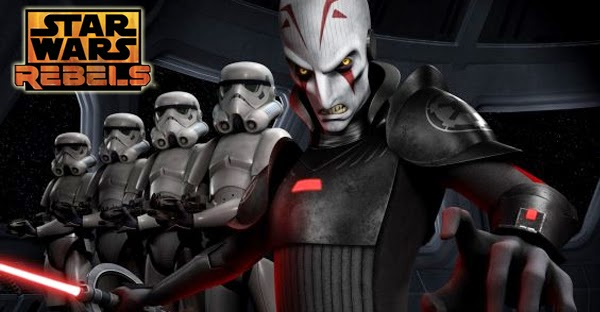 "Imagen promocional del ""Inquisidor"", principal villano de Star Wars Rebels"