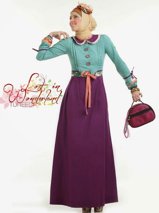 Contoh Baju Blazer Muslim Wanita Gaul 2016