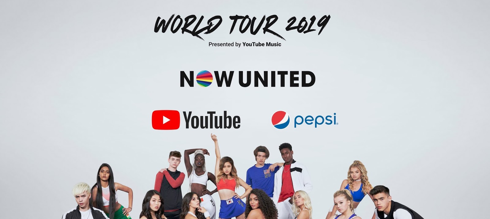 Now United anuncia nova turnê mundial!