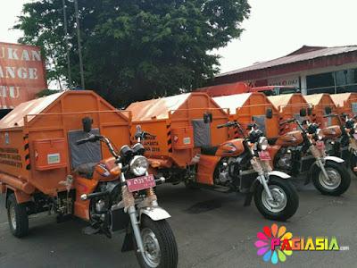 Pemprov DKI Akan Menambah Sebanyak 200 Unit Gerobak Motor untuk Program Kebersihan
