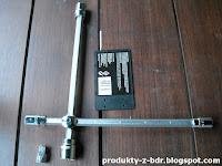 Klucz krzyżowy do kół z przesuwnymi ramionami Niteo Tools CW0274-15 z Biedronki