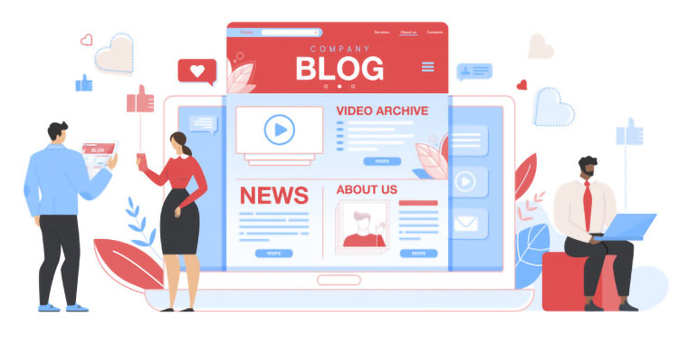 Create a Company Blog