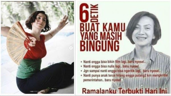 Postingan Wanda Hamidah di Tahun 2014 Terbukti di Tahun 2019, Trending Topic Dijuluki Peramal Ulung