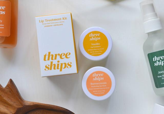Three Ships Beauty Lip Exfoliator and Buttercream Hydrating Lip Mask