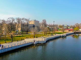 Новомосковськ. Набережна Самари