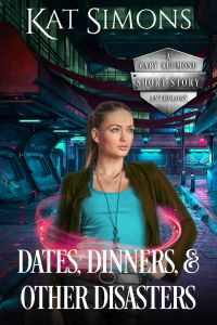 Cover art for Dates, Dinners, and Other Disasters, A Cary Redmond Short Story Anthology