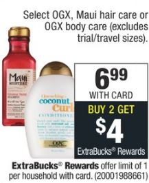 OGX cvs deal