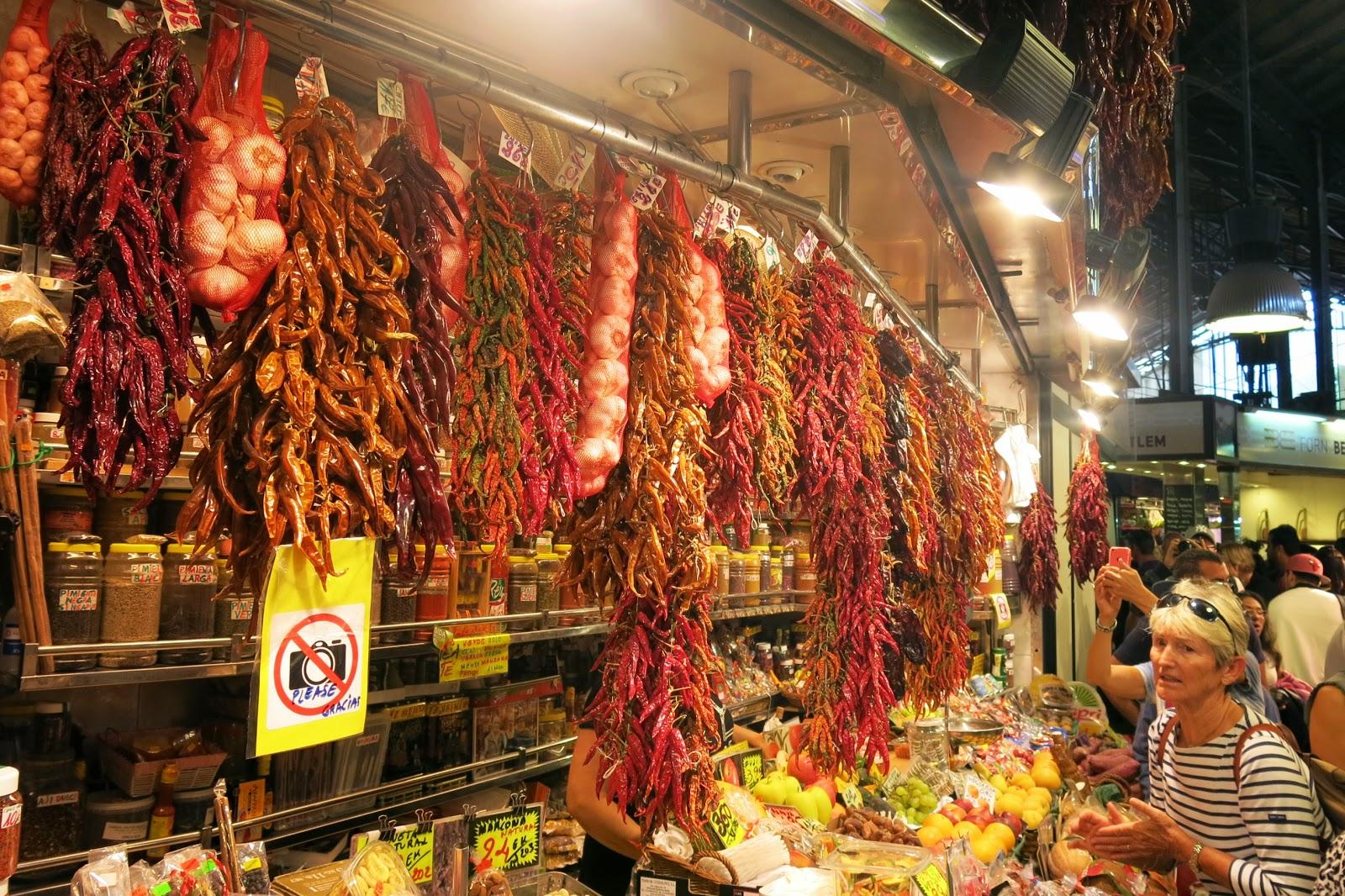 La Bouqueria i Barcelona