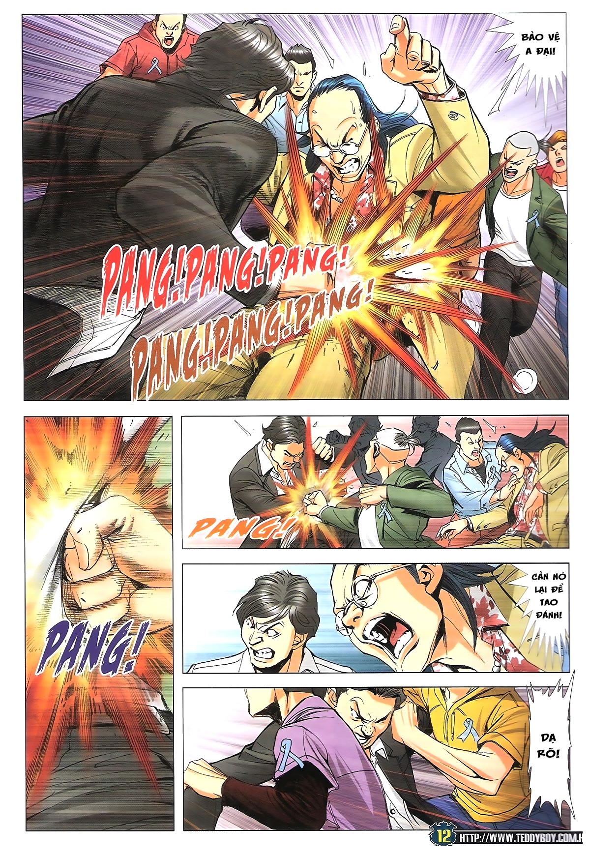 Người Trong Giang Hồ chapter 1770: tên x hồng hưng trang 10