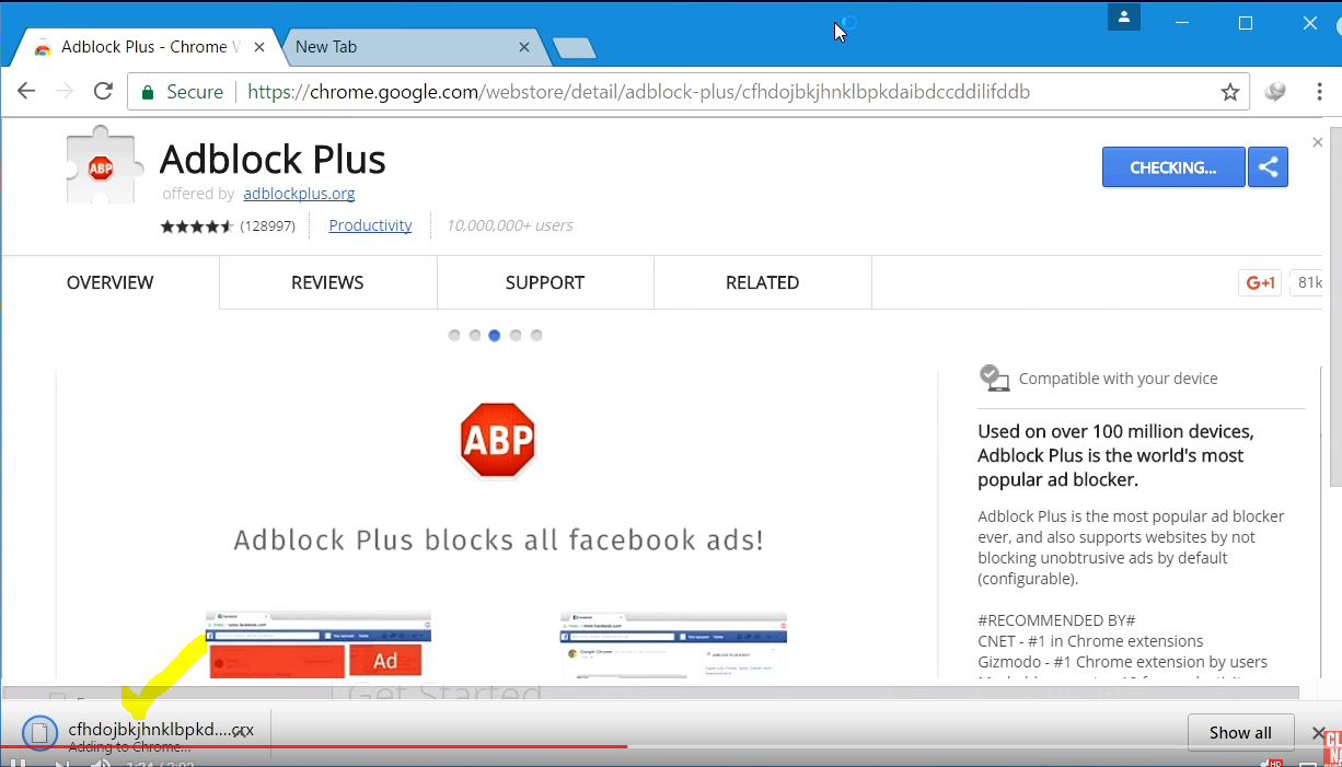 Add On Chrome Adblock Plus
