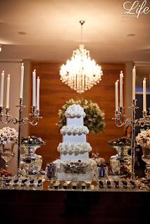 casamento com cerimônia na igreja são joão bastista em porto alegre e recepção na casa vetro com cerimonial e decoração elegante sofisticada luxuosa por life eventos especiais bolo de casamento