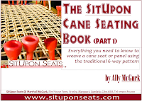 instruction book for cane chair seating