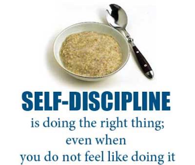 Disiplin Dimulai dari Hal-Hal Ini