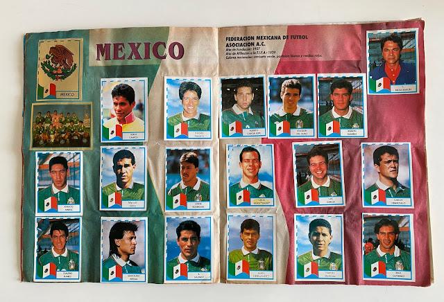 figurine Messico copa america '95  Navarrete