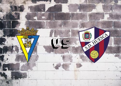 Cádiz vs Huesca  Resumen