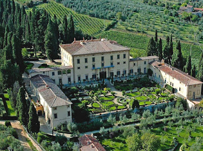 Villa Poggion Torselli in Tuascany, Italy