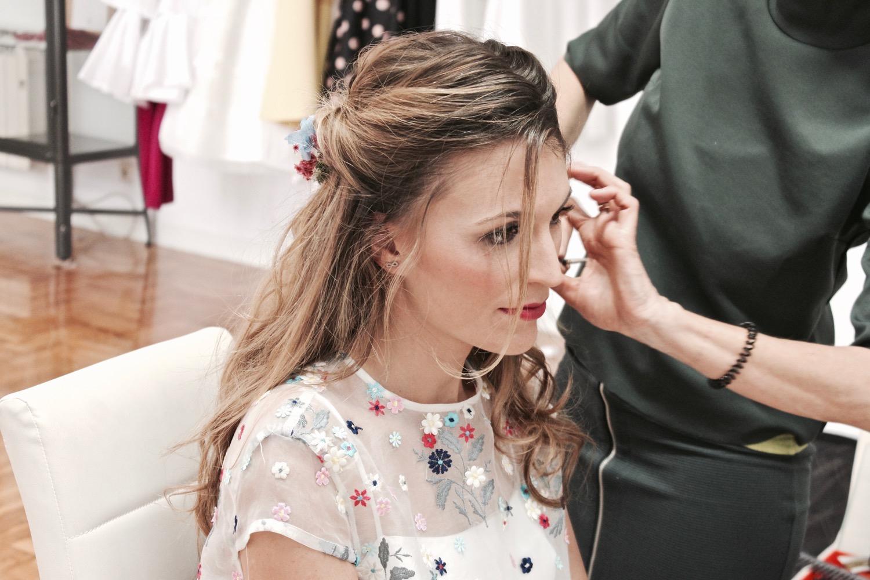 peluquería boda pamplona