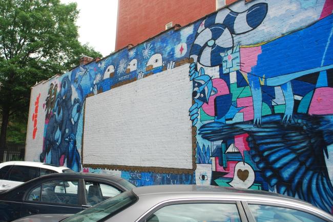 RVA Street Art: Mickael Broth and Welcoming Walls