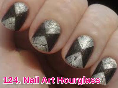 Nail Art Hourglass