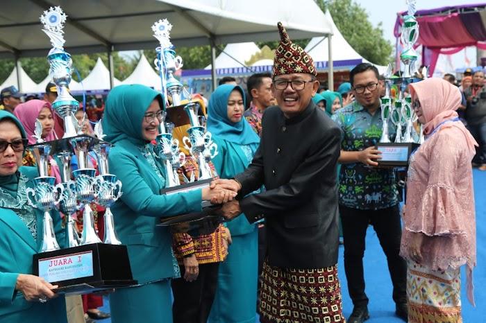 Lampung Selatan Raih Lima Penghargaan Harganas Ke-XXVI Di Tingkat Provinsi.