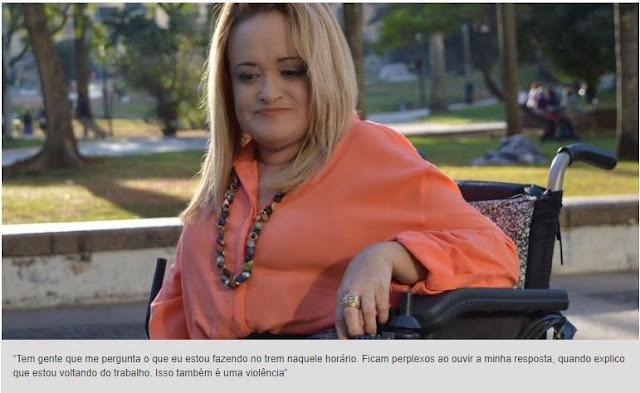 """""""Diante da violência, mulheres com deficiência são ainda mais vulneráveis"""""""