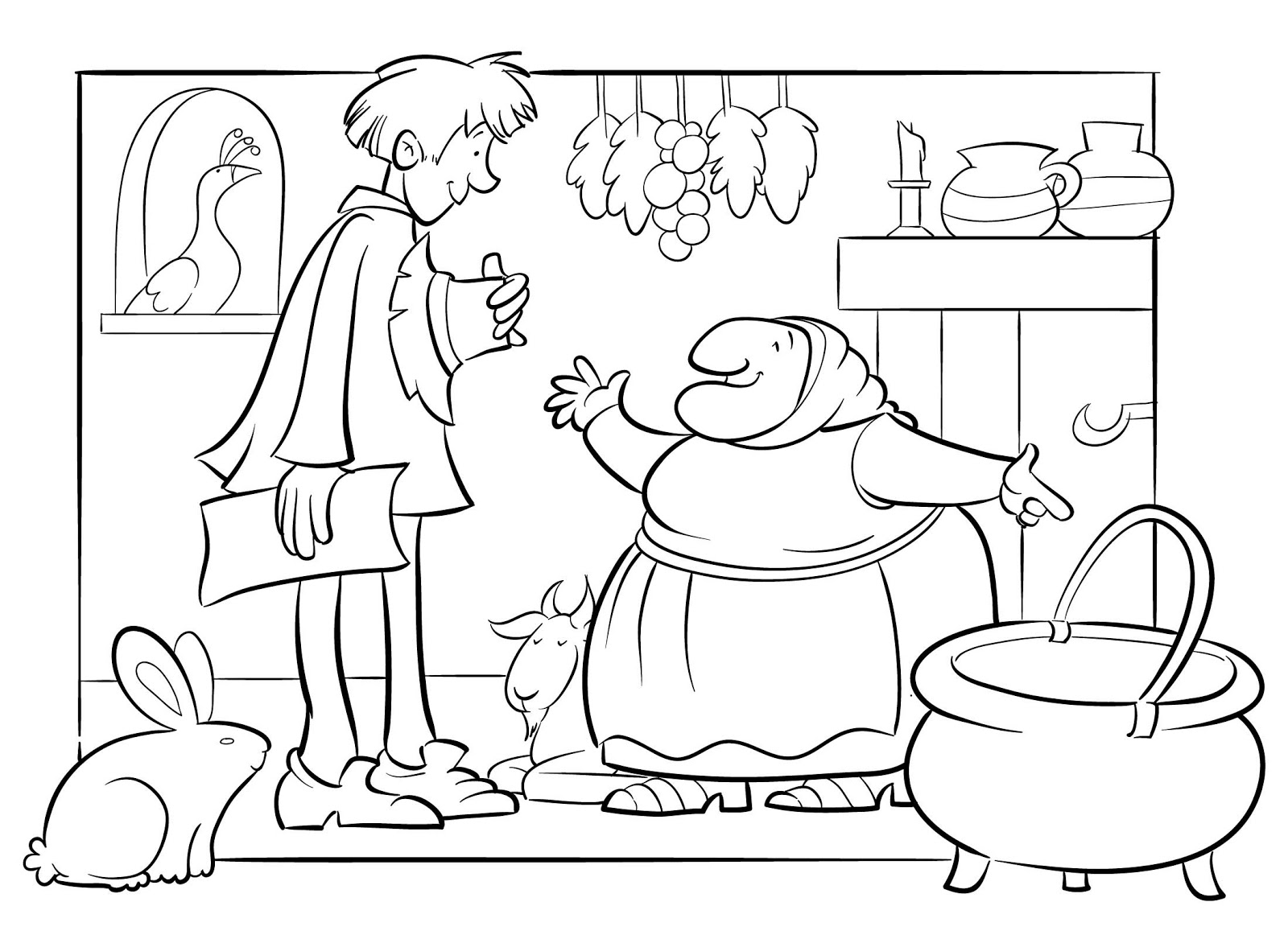 Uncategorized Strega Nona Coloring Pages tomie depaola coloring pages murderthestout strega nona 28 images