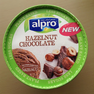 alpro hazelnut ice cream dairy free