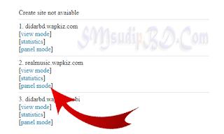 Wapkiz Site List