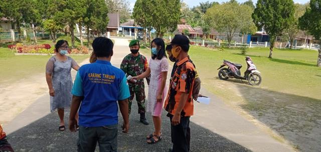 Ops PPKM Micro Patuh Toba 21 Dilaksanakan Personel Jajaran Kodim 0207/Simalungun