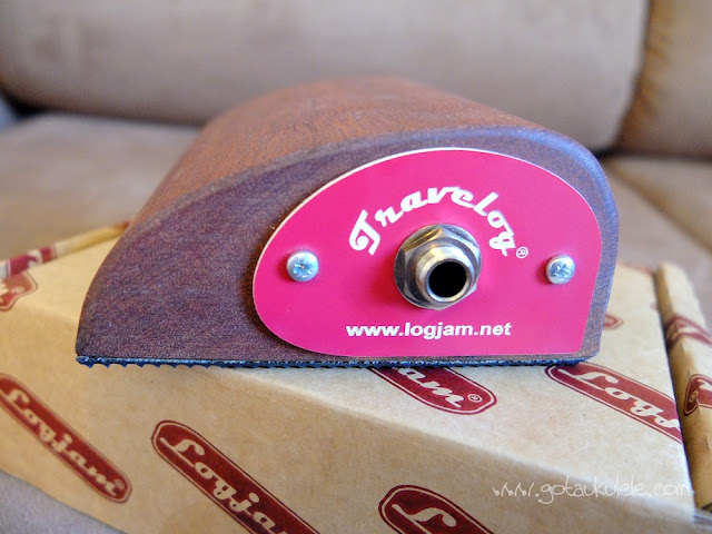 Got A Ukulele reviews - Logjam Travelog 2 jack socket