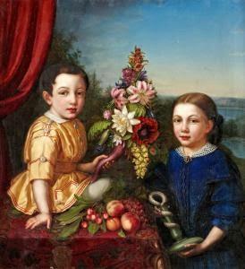 Axel et Henrietta Von Arbin (1858), Sophia Albertine Adlersparre