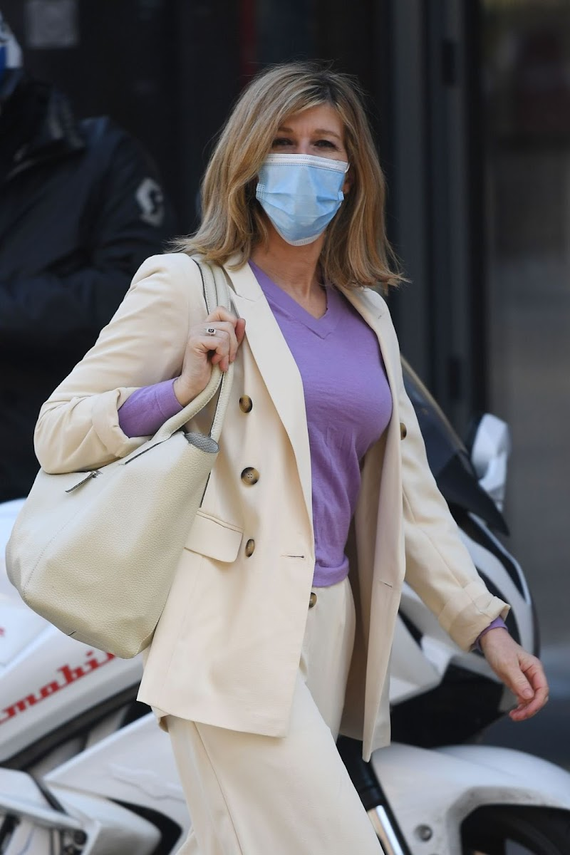Kate Garraway Spotted at Smooth Radio in London 19 Apr-2021