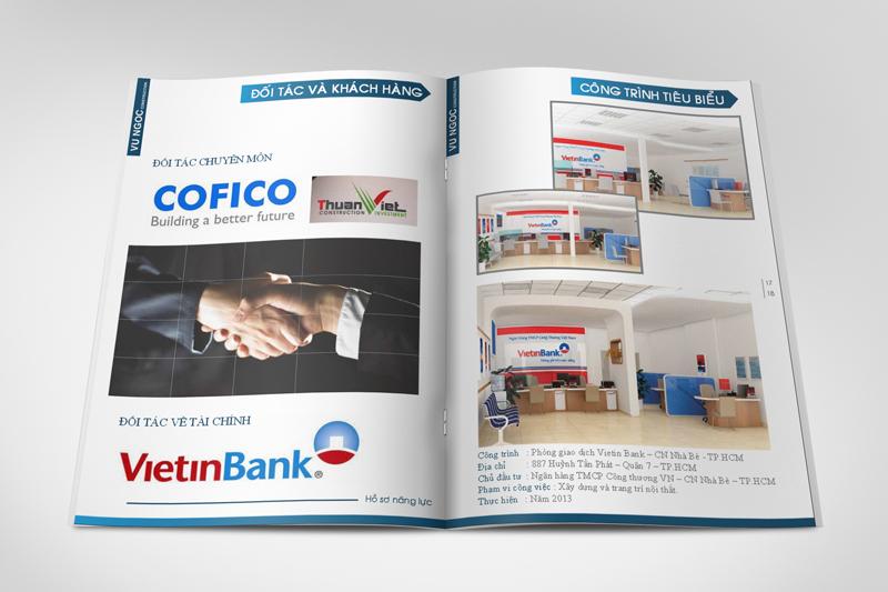 In profile công ty đẹp, hồ sơ năng lực, sách giới thiệu công ty Vu Ngoc