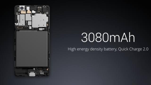 Baterai Mi4C berkapasitas 3080mAh