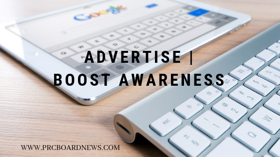 Advertise PRC Board News