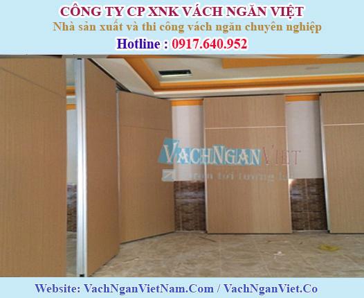 Vách ngăn di động nhà hàng tại Gò Vấp - HCM