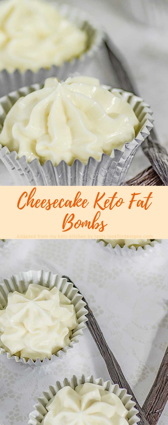 Cheesecake Keto Fat Bombs